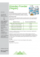 Glandex Vegan Salmon Flavoured Powder